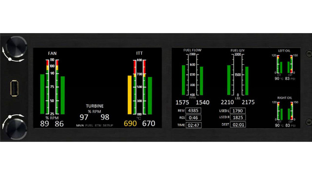 Jettech Develops Digital Engine Display Install For