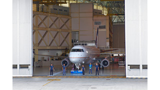 Embraer Rolls Out First Production E175 with Fuel Burn Improvements