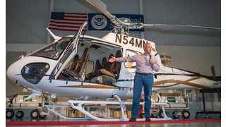 Leading Entrepreneur David MacNeil Takes Delivery of Customized Airbus Helicopters' AS350 B3e with Garmin G500H Glass Cockpit
