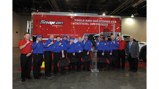 Team Boeing Wins 2014 William O'Brien Trophy for Aviation Tech Excellence, Sponsored by Snap-on, at Aerospace Maintenance Competition in Las Vegas
