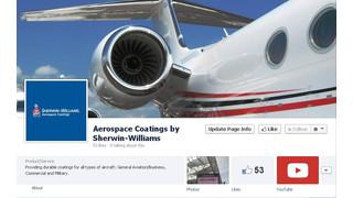 Sherwin-Williams Adds Robust Aerospace Coatings Social Media Platforms