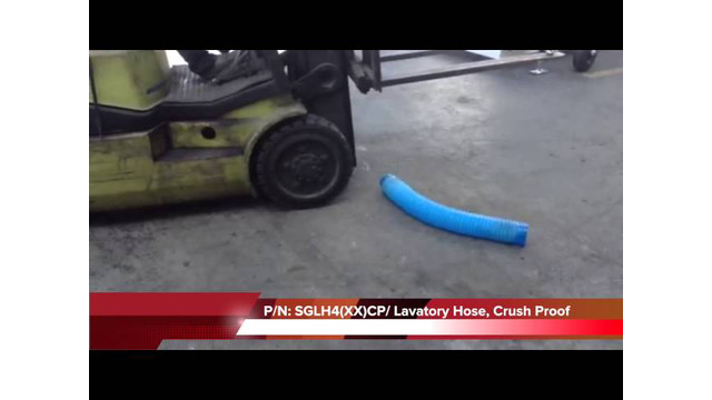 SGLH4(XX)CP/ Crush Proof Lavatory Hose.