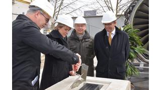 MTU Aero Engines Lays Foundation Stone for New Logistics Center
