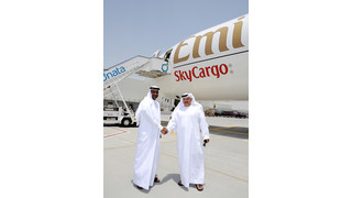 Emirates SkyCargo Freighter Operations Begin at Dubai World Central