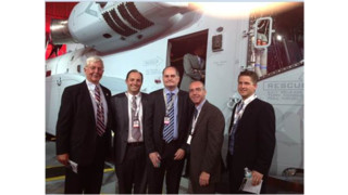 Donaldson Company Employees, Including President & CEO Bill Cook, Attend Rollout Ceremony for CH-53K King Stallion Helicopter