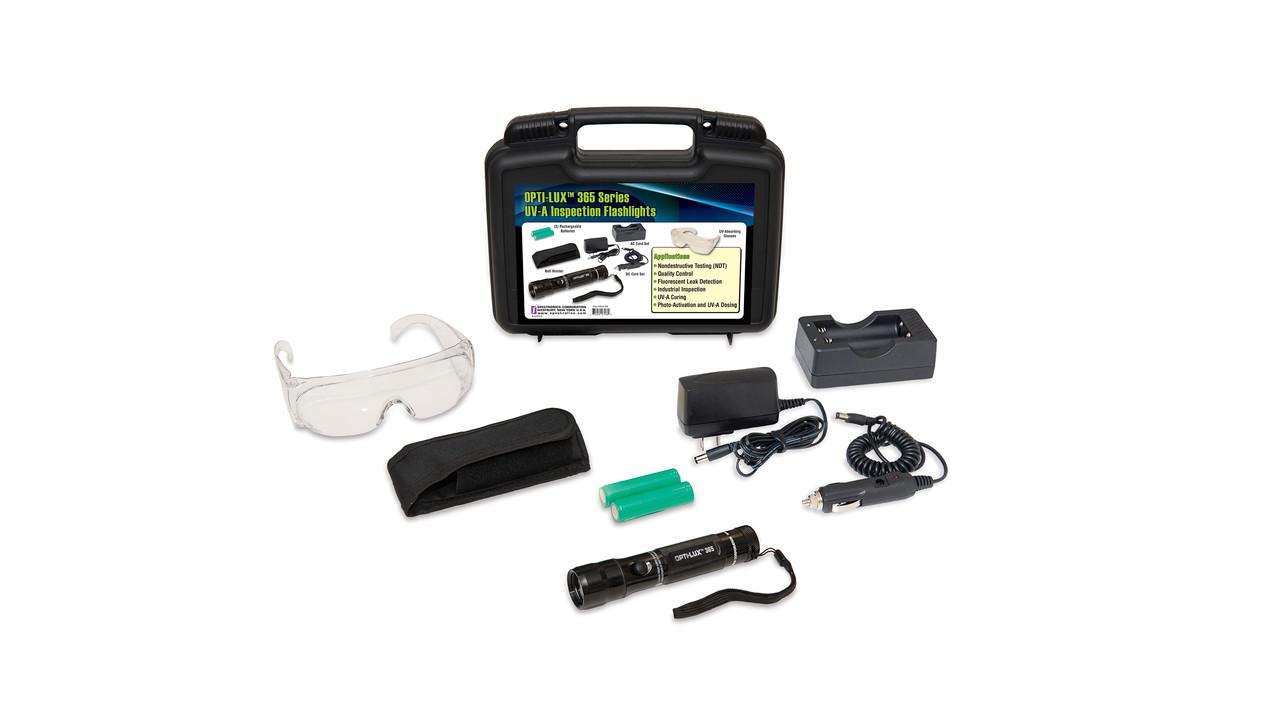 Spectroline Uv Led Leak Detection Flashlight