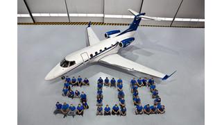 Embraer Executive Jets Reaches Milestone of 500th Phenom Family Jet