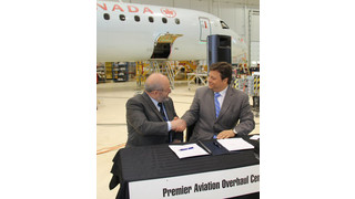 Air Canada and Premier Aviation Sign Exclusive Five-Year Contract