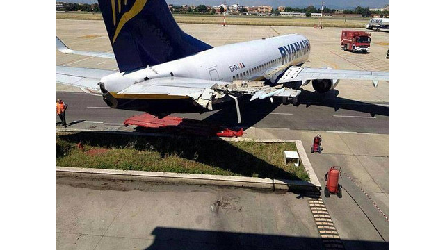 Ground Damage At Rome Airport Underscores Importance Of Properly Securing Aircraft