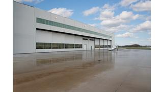 Bi-parting Hangar Doors