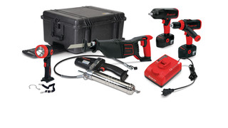 Power Up Your Performance With Snap-on Industrial's 18 Volt Ni-Cad Master Cordless Tool Kit