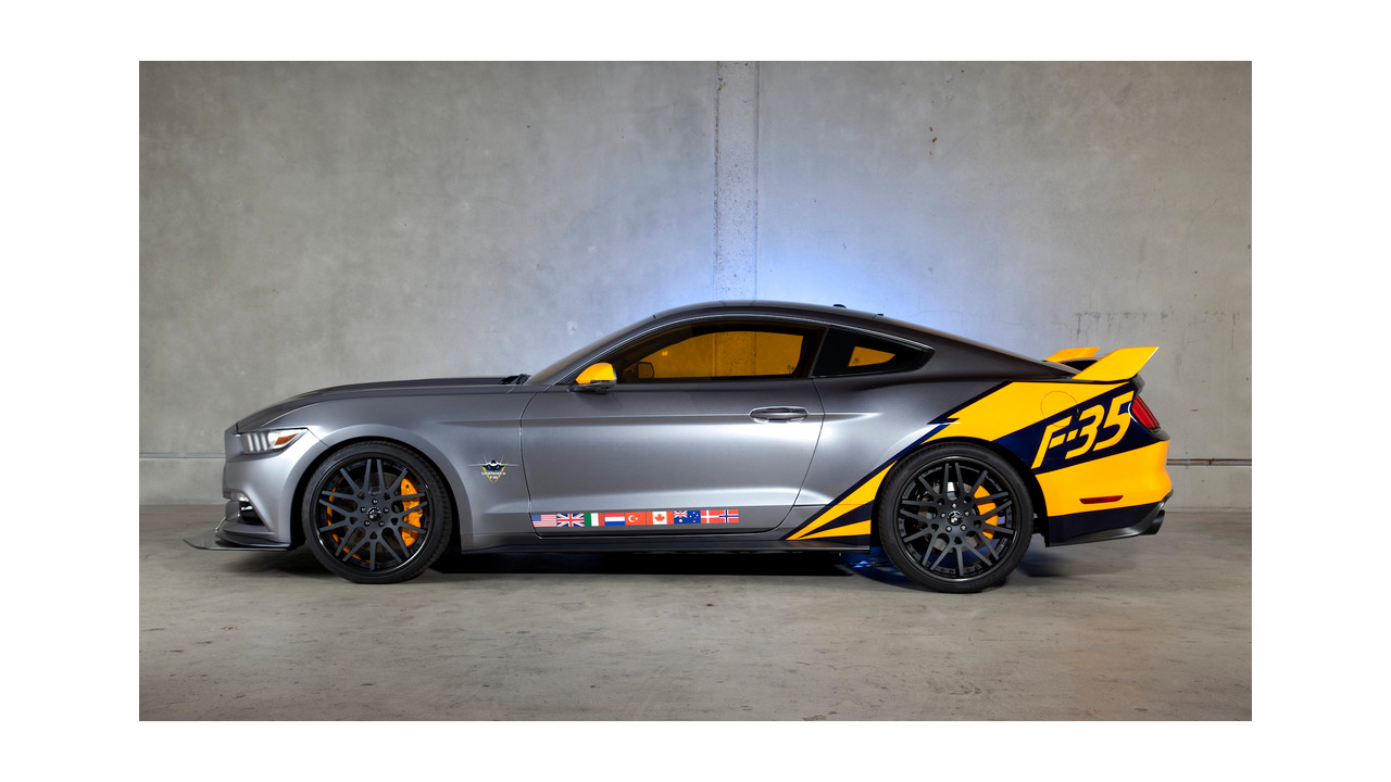 ford f35 lightning ii edition mustang celebrates 50 years
