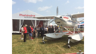 Mahindra to Debut Airvan 8 Floats at EAA AirVenture Airshow