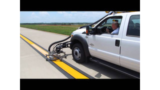 Stripe Hog SH5500 Airfield Marking Rejuvenation at Bluegrass Airport