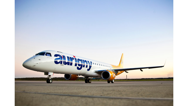 E195 starts operation with Aurigny Air Services