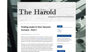 The Debut of The Ipsen, Harold – Simplifying Leak Checks