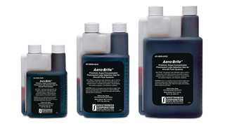Universal Fluorescent Dye Locates Fuel, Lubrication and Hydraulic Leaks in Aviation Systems