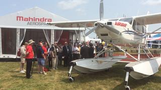 Mahindra to Debut Airvan 8 Floats at EAA AirVenture Airshow