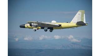 DynCorp International NASA Team Helps Rebuild WB-57 Aircraft