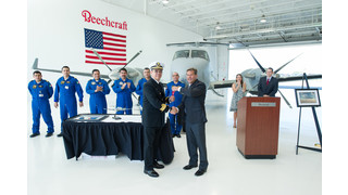 Beechcraft Delivers T-6C+ Trainers, King Air 350ER to Mexican Navy