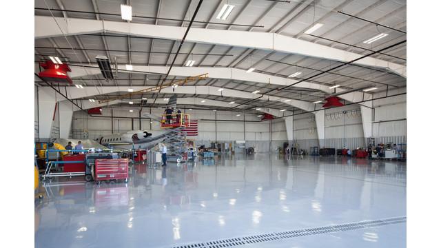 Gulfstream Appleton Adds Dedicated Mid-Cabin Hangar
