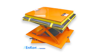 Scissor Lift and Rotate System