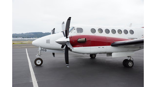 King Air 350 Swept Composite Propellers Begin FAA Certification Testing at Raisbeck Engineering