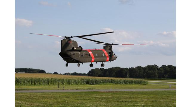 Summit Aviation Prepares Army Chinook For Civilian Job