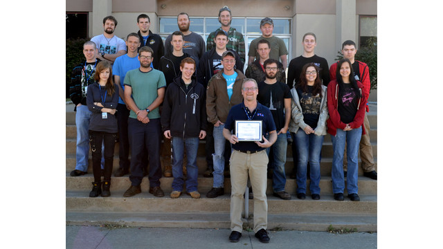 PIA Instructor Receives Statewide Recognition