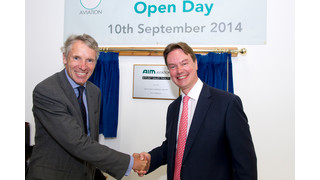 Official Opening of AIM Aviation's New Facility in Byfleet