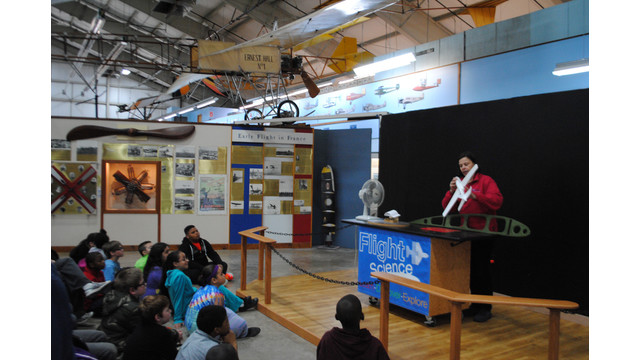 SOAR for Science at the New England Air Museum