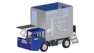 CL-DC3 Regional Catering Truck