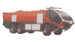 KME 6X6 ARFF Vehicle
