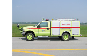 Twin Agent Fire Fighting Vehicle