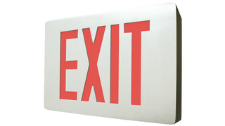 CLED Series cast aluminum LED exit sign