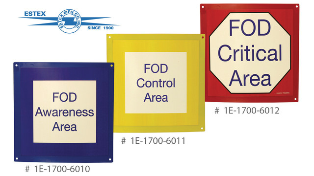FOD Readiness Signs