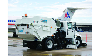 Model HSP High Speed Runway Regenerative Air Sweeper