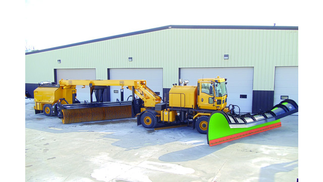 Airport Snow Removal Chassis