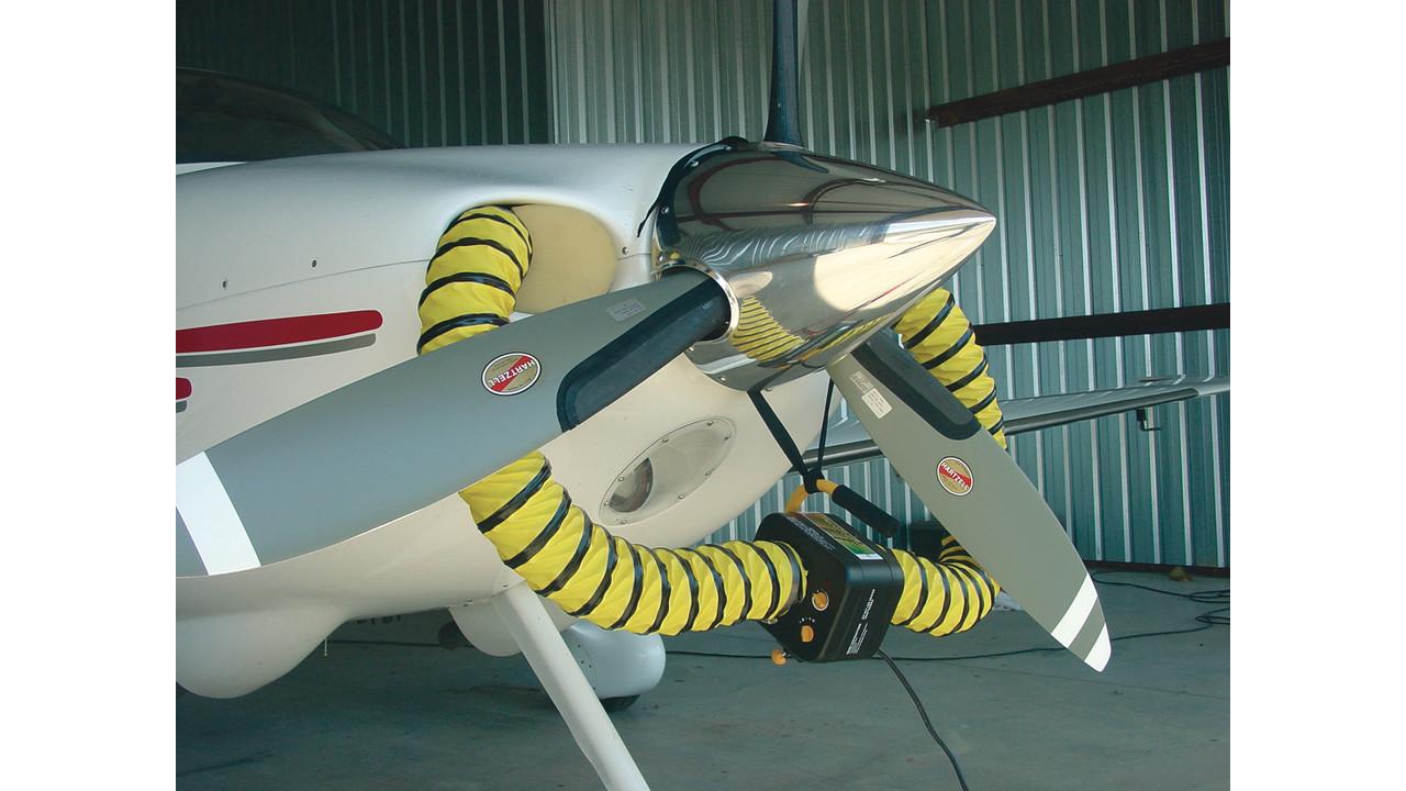 Propane Shop Heater >> AeroTherm engine heater | AviationPros.com