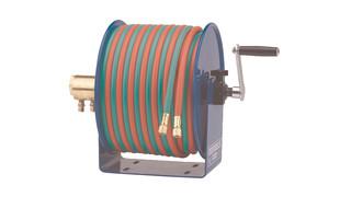 100W hand crank welding hose reels