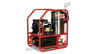 1200 series hot water pressure washers