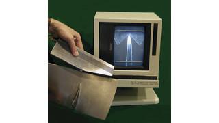 900B Edge Profile comparator optical instrument
