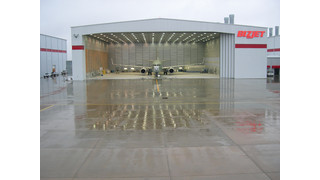 bizjet Paint facility