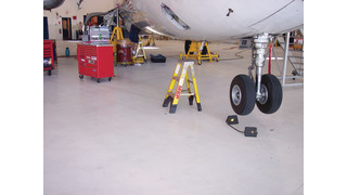 Epoxy/urethane flooring systems