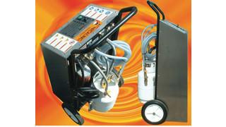 Hecat H1000 A/C component refrigerant flusher