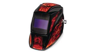 Inferno auto-darkening helmet
