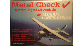 Metal Check oil analysis kit
