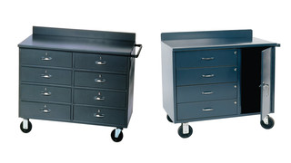 mobile storage cabinet workstations