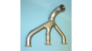 Wall Colmonoy aircraft exhaust systems