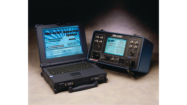 MTI Instruments PBS-4100 Plus vibration analysis/trim balancing